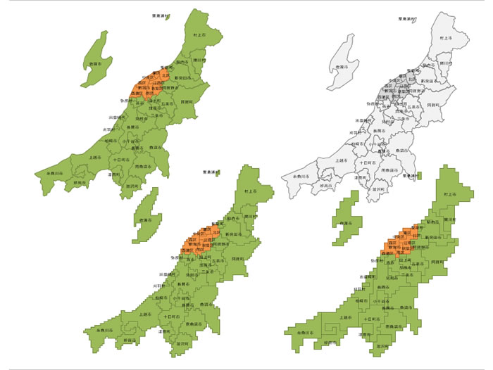新潟 県 地図 フリー Illustration Images イラスト画像