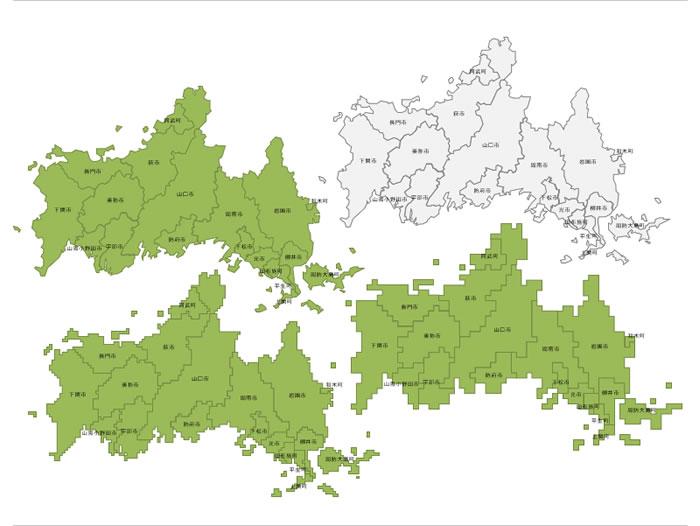 県 地図 山口