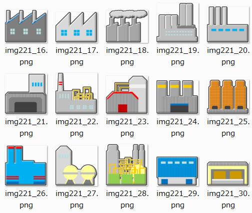 内容 PNG形式画像30枚(透明化処理、およそ450px幅に納まるサイズ); 更新日 2013年4月24日; 容量 188KB(zip形式圧縮)