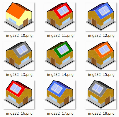 家のイラストイラスト画像 パワーポイントフリー素材のdigipot