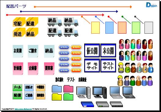 スケジュール表 テンプレート2 ... : 年表 作成 : すべての講義